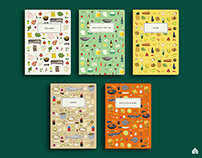 Indonesian Food Series Mini Notes