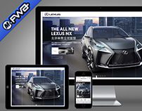 LEXUS.COM.TW Redesign