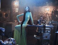 Behind the scenes - Lavendería
