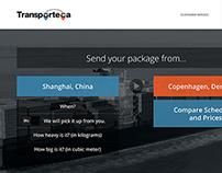 Transporteca Website Redesign