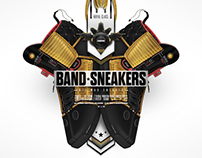 Band Sneakers - Footwear Design