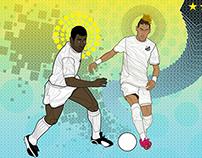 CLASH OF THE TITANS - SANTOS FC x BARCELONA