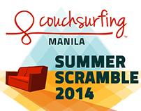 Couchsurfing Manila - Summer Scramble 2014