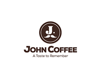 John Coffee Logo Redesign and Packaging Mockups