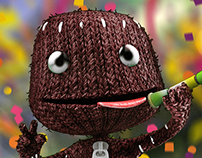 [3D] Sackboy goes to World Cup | #E3CollabBR