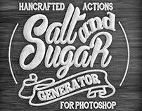 Salt & Sugar Generator - Photoshop Actions