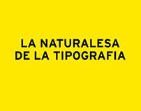 La naturalesa de la tipografia