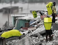 Shedpack - Disaster pack & emergency shelter backpack