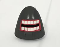 Scar Monster's Head in 3D