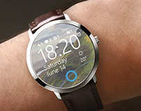 Microsoft smartwatch concept - windows for wearables