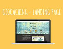 Geocaching - LANDING PAGE