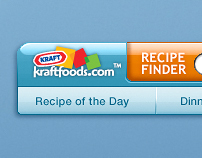 Kraft Foods Recipe Finder Widget