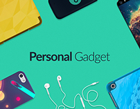 Design online store Personal Gadget