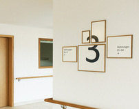 Retirement Facility Hottingen - Signage