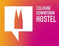 "Branding ""Cologne Downtown Hostel"""