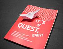 IT´S A QUEST, BABY! // Book Cover Design