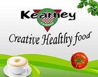 """Kearney creative healthy food"" banner"