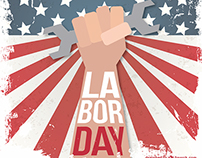 Labor Day - For Freepik!