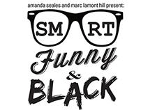 Smart, Funny & Black Logo