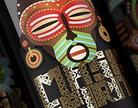 Mask Spirit. Collection of New World wines
