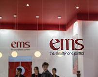 EMS Mobile World Congress Stall Design