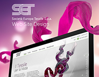Fashion & Textile, Website Design