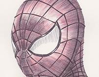Ballpoint Pen Spiderman