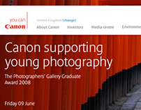 Canon Europe | Pitch