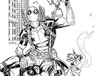 Deadpool vs sentinel