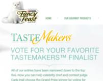 Purina Fancy Feast Tastemakers site