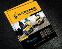 Hunter Tire Trifold Brochure