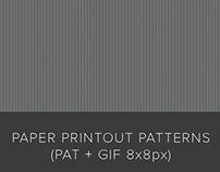 Free Paper Printout Patterns