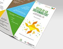 Festa de la sostenibilitat (tríptic)
