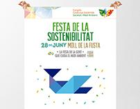 Festa de la Sostenibilitat (señalización y promoción)