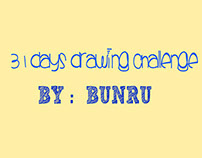 31 DAYS DRAWING CHALLENGE