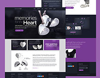 PhotoLocket: Website Design