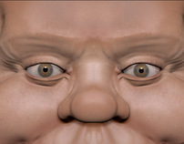 ZBRUSH ALFRED E NEWMAN  MODELING