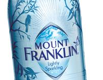 Mount Franklin brand identity & packaging