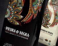 Piedra Negra Ecuadorian Gourmet Coffee Packaging