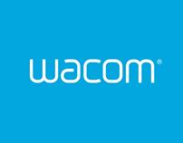 Wacom.com Re-Design