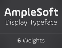 AmpleSoft - A display type family