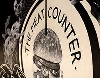 The Meat Counter - Murals & Signage