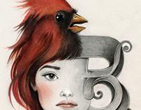 Bird • Letter • Face