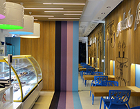 GELATO FREDDO / ice cream shop