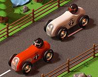 Vilac race cars