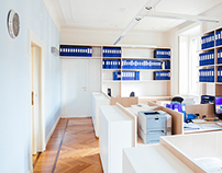 House renovation to new offices in Milan