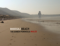 Sand Rushes // Land Art
