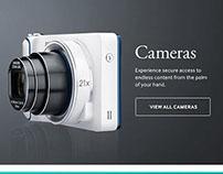Re-Design Samsung's North American B2B Website