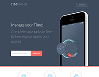 TIMMANA - App Landing Page