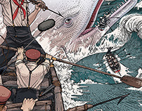 """Moby Dick"" for Penguin Audio Books"